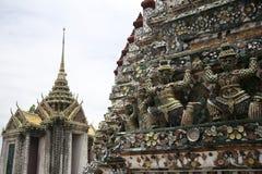 Tempiale del arun di Wat dell'alba Bangkok Tailandia Fotografie Stock Libere da Diritti