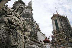 Tempiale del arun di Wat dell'alba Bangkok Tailandia Fotografia Stock Libera da Diritti