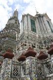 Tempiale del arun di Wat dell'alba Bangkok Tailandia Immagini Stock Libere da Diritti