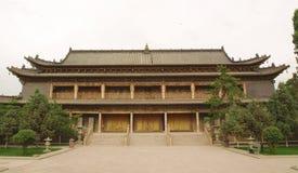 Tempiale del Buddha in Gansu Fotografia Stock Libera da Diritti