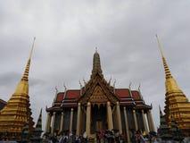Tempiale del Buddha verde smeraldo a Bangkok immagini stock libere da diritti