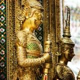 Tempiale del Buddha verde smeraldo a Bangkok Immagine Stock