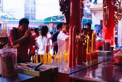 Tempiale del cinese del Li Thi Miew Immagini Stock