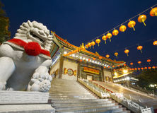 Tempiale del cinese Lengneayyi2 Fotografie Stock