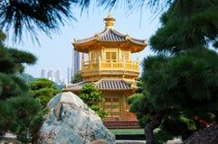 Tempiale del cinese tradizionale Fotografia Stock