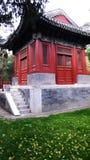 Tempiale del confuciano di Pechino Fotografia Stock