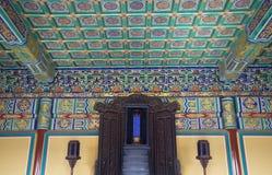 Tempiale del Corridoio dell'imperatore di cielo Pechino Cina immagini stock libere da diritti