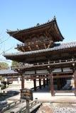 Tempiale del corridoio di Byodoin Phoenix, Uji, Kyoto Giappone Fotografia Stock