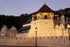 Tempiale del dente, Kandy, Sri Lanka Fotografie Stock Libere da Diritti