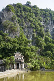 Tempiale del di Bich nel Vietnam Fotografia Stock Libera da Diritti