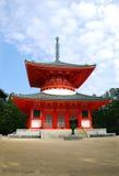 tempiale del Koya-san Fotografia Stock