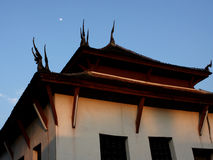 Tempiale del Laos fotografia stock