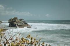 Tempiale del lotto di Tanah in Bali fotografia stock