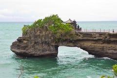 Tempiale del lotto di Tanah in Bali, Indonesia Immagine Stock