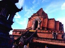 Tempiale del luang di Chedi Immagine Stock Libera da Diritti