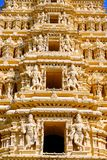 Tempiale del Mysore-Palazzo fotografia stock libera da diritti