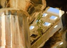 Tempiale del soffitto di Hephaestus Fotografia Stock Libera da Diritti