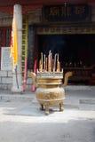 Tempiale del Taoist, Xian, Cina Fotografia Stock
