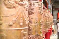 Tempiale del Tibet Fotografia Stock Libera da Diritti