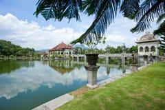 Tempiale dell'acqua in Bali Fotografia Stock