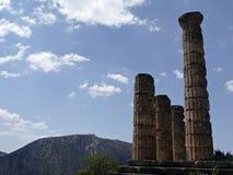 Tempiale dell'Apollo Fotografie Stock Libere da Diritti