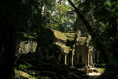 Tempiale dell'AT Prohm Fotografie Stock