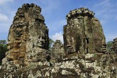 Tempiale della Cambogia Siem Reap Angkor Wat Bayon Immagini Stock Libere da Diritti