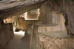 Tempiale della caverna di Kenko - Cuzco - Perù Immagini Stock