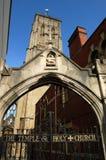 tempiale della chiesa di Bristol Immagine Stock