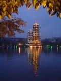 Tempiale della Cina Fotografia Stock Libera da Diritti