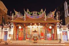 Tempiale della divinità capitale della Taiwan, città di Tainan, Taiwan Fotografie Stock