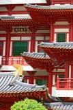 Tempiale della reliquia del dente del Buddha, primo piano Fotografia Stock