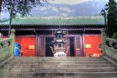 Tempiale dello Shan di Wudang Fotografia Stock Libera da Diritti