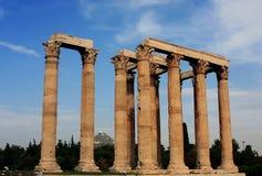 Tempiale dello Zeus Fotografia Stock