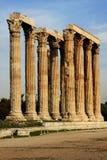 Tempiale dello Zeus Fotografia Stock Libera da Diritti
