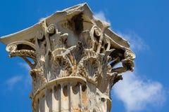 Tempiale dello Zeus di olimpionico Immagine Stock Libera da Diritti