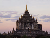 Tempiale di Ananda in Bagan fotografia stock