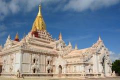 Tempiale di Ananda Bagan myanmar fotografie stock libere da diritti