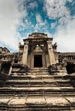 Tempiale di Angkor Wat Immagine Stock Libera da Diritti