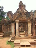 Tempiale di Angkor Wat Immagini Stock Libere da Diritti