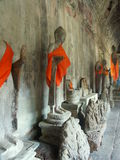 Tempiale di Angkor Wat Fotografia Stock Libera da Diritti