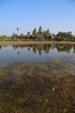 Tempiale di Angkor Wat, Siem Reap, Cambogia immagini stock libere da diritti