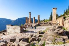 Tempiale di Apollo, Grecia Fotografia Stock Libera da Diritti