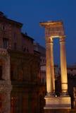 Tempiale di Apollo Sosianus, Roma, Italia fotografia stock