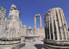 Tempiale di Apollon Fotografie Stock