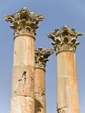 Tempiale di Artemis, Jerash immagini stock