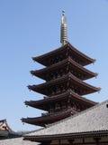 Tempiale di Asakusa Fotografie Stock Libere da Diritti