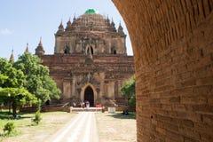 Tempiale di Bagan Immagini Stock Libere da Diritti