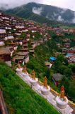 Tempiale di Baiyu Fotografie Stock Libere da Diritti