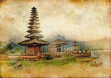 Tempiale di Balinese fotografia stock libera da diritti